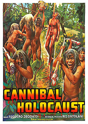 Cannibal Holocaust (1980) - A1/A2 POSTER **BUY ANY 2 AND GET 1 FREE OFFER**