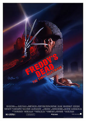 Freddy's Dead The Final Nightmare (1991) - A1/A2 POSTER BUY ANY 2 AND GET 1 FREE