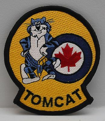 Rcaf F-14 Tomcat Royal Canadian Air Force Patch Canada Rare