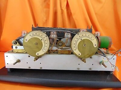 Vintage 1920's? STEINITE 990? Chassis + Power Supply TUBE RADIO ~ PILE O' PARTS