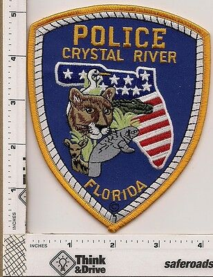 Crystal River Police. Florida.  New Style.