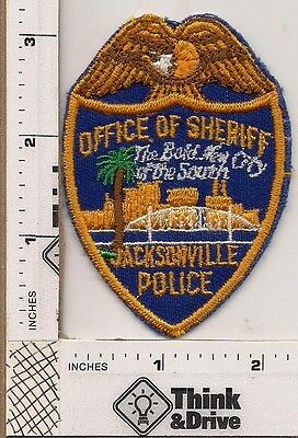 Jacksonville Sheriffs Police. Florida. Breast Patch.