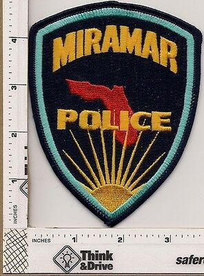 Miramar Police.Color Florida.