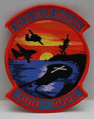 Vs-35 Blue Wolves Final Sunset 2005 Patch Original By Sfs Patches