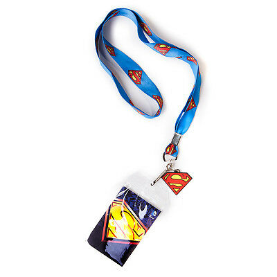 Official Superman - Classic Logo Lanyard With Photo Holder