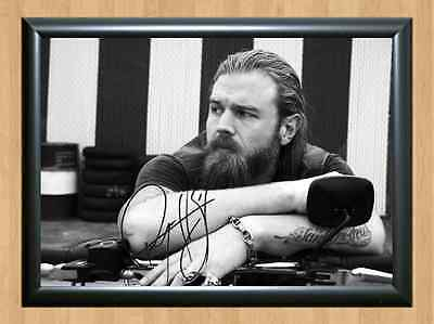 Ryan Hurst Sons of Anarchy Opie Winston Signed Autographed A4 Print Photo Poster