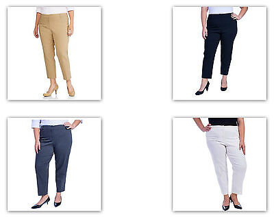 0c7251f95431d GEORGE WOMEN S PLUS Size Millenium Suiting Pants 24W BLACK   TAN ...