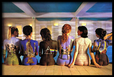 (Framed) Pink Floyd Back Catalogues POSTER 66x96cm Art Print Picture Brand New