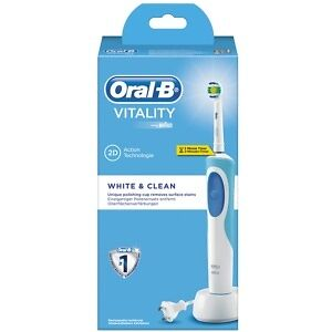 Oral-B Cepillo Recargable Vitality White + Clean