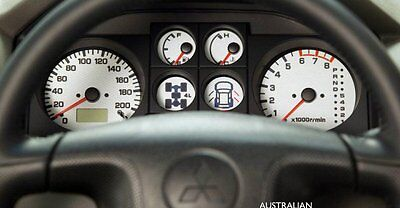 Mitsubishi Pajero instrument cluster temp and fuel gauge repair