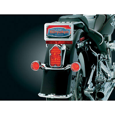 Kuryakyn 5410 Tombstone LED Taillight Conversion for 1997-2016 Harley Models