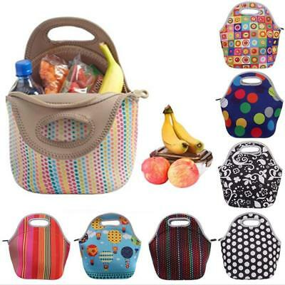 Thermal Cooler Insulated Lunch Bag Picnic Carry Neoprene Tote Storage Bag