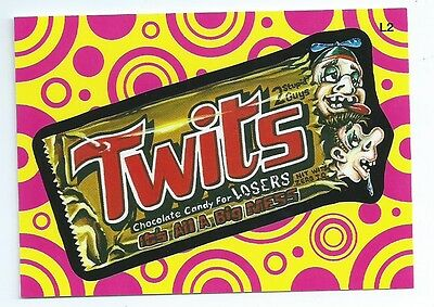 2014 Wacky Packages lost L2 Twits