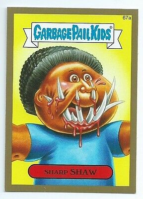 2014 Garbage Pail Kids brand new series  BNS2 GOLD lot 57 of 132