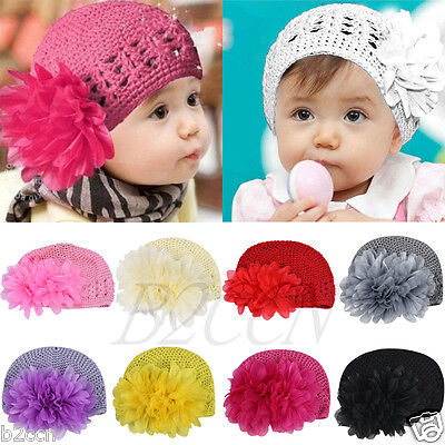 Infant Baby Girl Flower Headband Hair Band Toddler Hair Accessories Headwear Hat