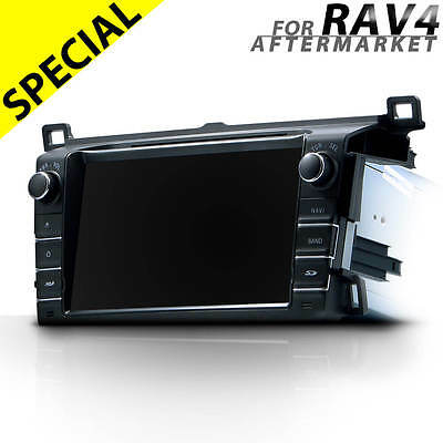 "8"" car GPS DVD player stereo radio head unit BT for Toyota RAV4 2012 onwards"