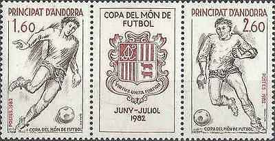 Timbres Sports Football Andorre 302A ** lot 15878