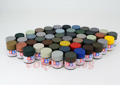 Tamiya Model Color Acrylic Paint Mini 10ml XF-1 - XF-90 81701-81790 Flat Matt