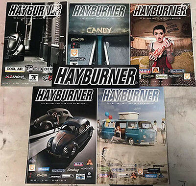 Hayburner Bulk Issue Pack 1-12 With *free Sticker*