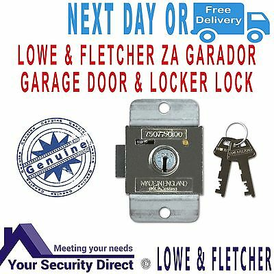 Lowe & Fletcher ZA Garador - Westland Garage Door & Locker Lock c/w 2 Keys