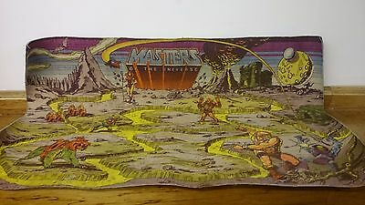 Masters of the Universe - Play Mat - He-Man - Activity - Vintage - Retro - 80s