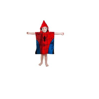 Marvel Spiderman Double Sided Hooded Poncho