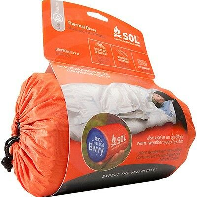 Adventure Medical Kits SOL Thermal Bivvy Motorcycle Biker Camping Bivy Bag Liner