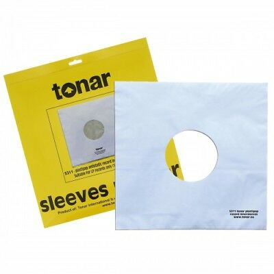 Tonar Plastipap Anstistatic Record Inner Sleeves (25 Pack)