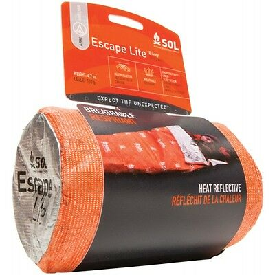 Adventure Medical Kits SOL Escape Lite Bivvy Motorcycle Bivy Bag Liner Shelter