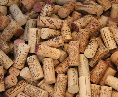 Lot of 10 - Natural Used Real Wine Corks - Red & White - FREE Shipping USA