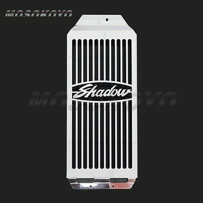 Motorcycle Radiator Grill Cover Guard For Honda Shadow Aero VT400 / VT750 04-11
