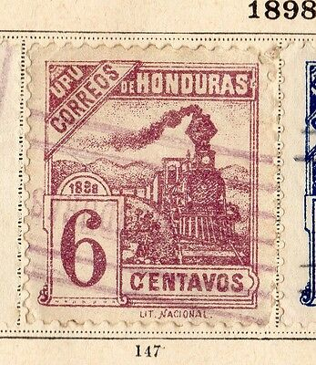 Honduras 1898 Early Issue Fine Used 6c. 094250