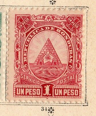Honduras 1890 Early Issue Fine Mint Hinged 1P. 094292