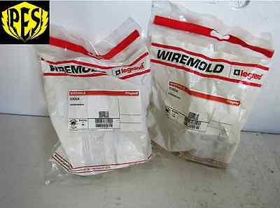 New Lot Of 7 Wiremold O300A Hardware Bag For Junction Box Bend Radius Insert