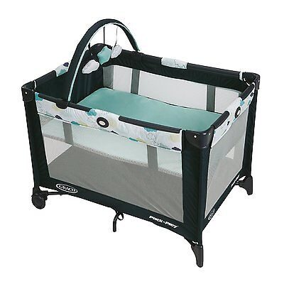Graco Pack 'n Play Playard with Automatic Folding Feet - Stratus | 1927561