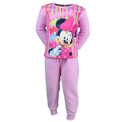 Pyjama Polaire Enfant Disney Minnie Rose