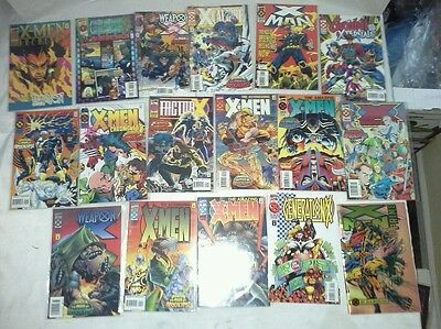 Lot of 17 X-men deluxe comic books Jan 2 - July Marvel Comics w/ limited edition