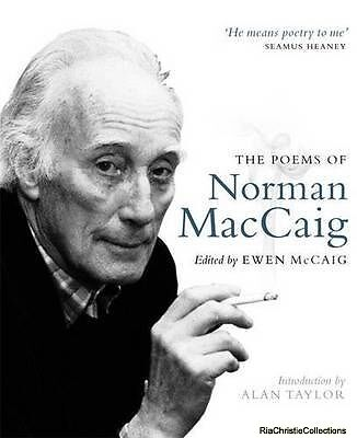 Poems of Norman MacCaig New Paperback Free UK Post