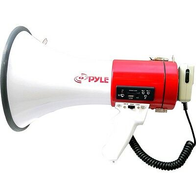 PyleHome PMP57LIA Megaphone - 50 W Amplifier W/ RECHARGEABLE BATTERY