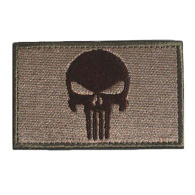 Outdoor Swat Punisher Skull Military Tactical Patch Army Morale Badge Armband