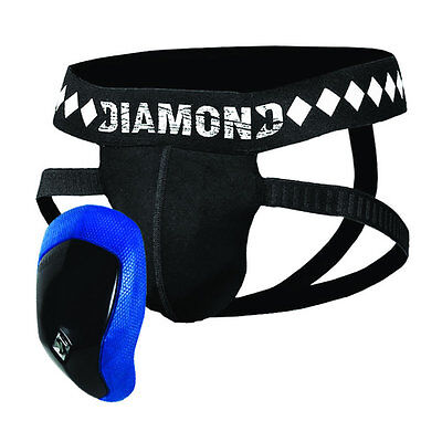 Diamond MMA Quad Strap Jock and Cup System