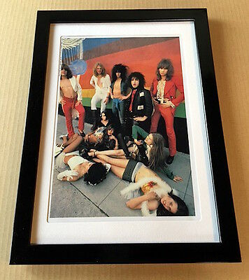 1993 The New York Dolls circa '72 JAPAN mag photo pinup mini poster FRAMED 4r