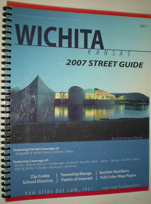 Wichita, Kansas Street Guide, by New Atlas (2007)