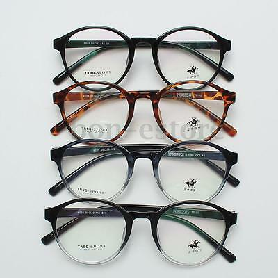 Vintage Men Women Retro Eyeglasses Frame Full-Rim Glasses Eyewear Clear Lens HOT