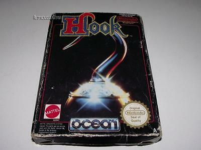 Hook Nintendo NES Boxed PAL Preloved *No Manual*