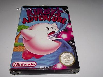 Kirby's Adventure Nintendo NES Boxed PAL Preloved *No Manual*