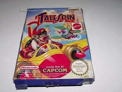 Disney's Tale Spin Nintendo NES Boxed PAL Preloved *No Manual*