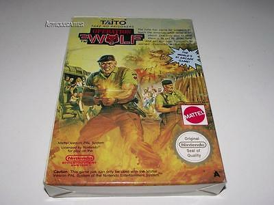 Operation Wolf Nintendo NES Boxed PAL Preloved *No Manual*