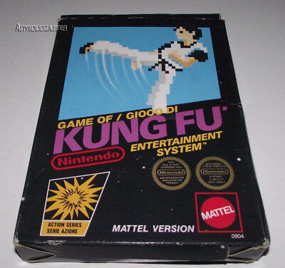 Kung Fu Nintendo NES Boxed PAL *No Manual*
