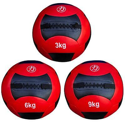 Strength Shop Medicine / Wall Ball - Red / Black- 3kg, 6kg, 9kg, 12kg